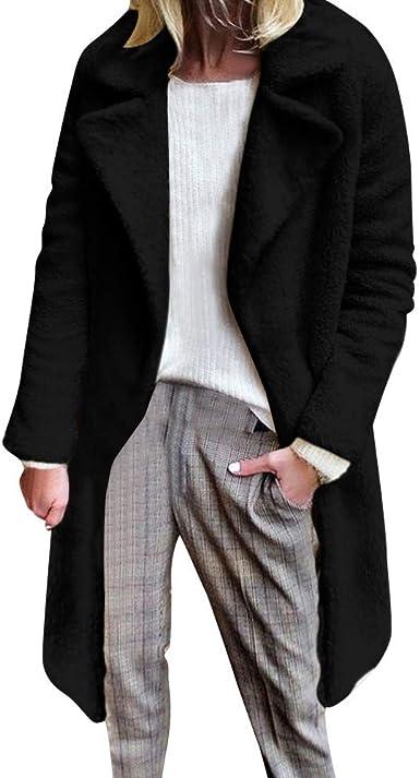 iQKA Women Fashion Parka Faux Fur Lining Coat Winter Warm Hooded Long Jacket Overcoat iQKA-Women-1004