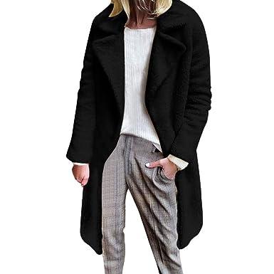 DICPOLIA Womens Plus Size Long Jackets Winter Coats Thicker Sweater Coat Overcoat Outwear (4,