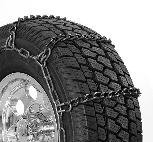 Security Chain Company QG3235 Quik Grip Wide Base DH Light Truck Tire Traction Chain - Set of 2