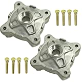 CALTRIC FRONT LEFT RIGHT WHEEL HUBS and STUDS Fits POLARIS RZR S 800 EFI 2010-2014