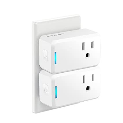 Smart Switch Wall Socket Electrical Uk Plug Charger Dual Usb Voice Control Wifi Adapter Outlet Panel Pure White And Translucent Accessories & Parts
