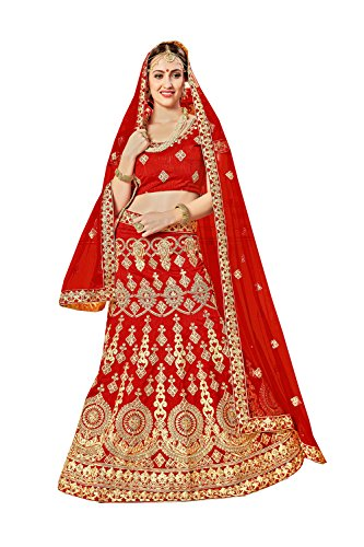 Indian Bridal Women party wear Designer Wedding Dress Wedding red Lehenga Choli KES-4779 by Jaipur Collections
