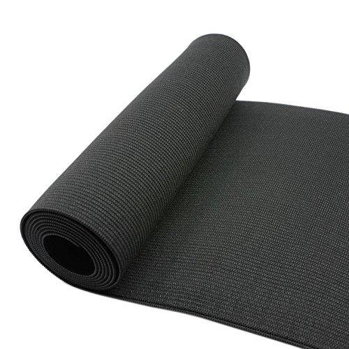 YEAR DEAL!! 6-Inch Wide Black Heavy Knit Stretch ELASTIC 2 Yards by