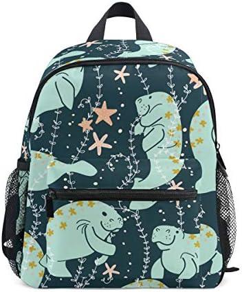 リュック 海牛 子供 キッズ バッグ 軽量 大容量 通学 遠足 散歩 男の子 女の子 入学 お祝いプレゼント