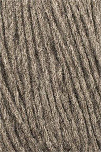Long Natural Wool (Karabella Super Yak Bulky Yarn - Yak and Merino Wool Blend – Very Soft, Light, and Knits Beautifully - Long Yardage; 125 yds / 115m per Skein (Beige Solid 10100) Old Code 10151)