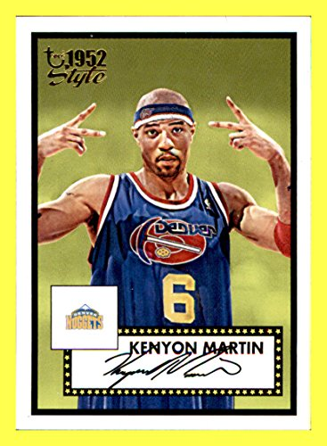 2005-06 Topps Style #72 Kenyon Martin DENVER NUGGETS (Denver Nuggets Kenyon Martin)