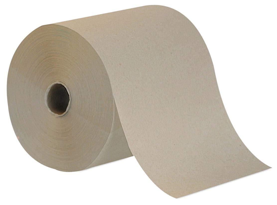 Brown High Capacity Paper Towels, 7-7/8''W x 800'L, 6 Rolls
