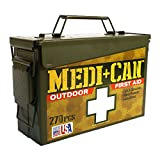 Be Smart Get Prepared 270-Piece Medi+Can First Aid and Advance Wound Care Kit