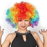LoveInUSA Clown Wig and Foam Clown Nose