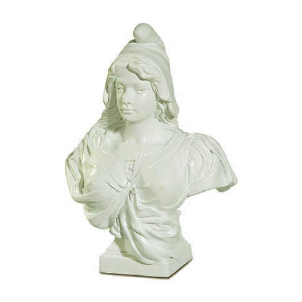 Souvenirs of France Busto Marianne 4,9 en Color Blanco