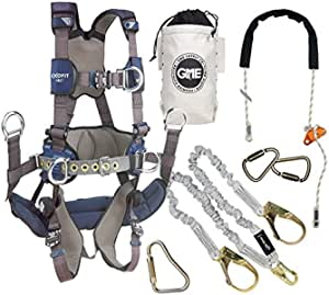 GME Supply 90005 ExoFit NEX Tower Climbing Harness Kit