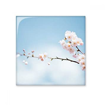Plum Blossom Blue Sky Clouds Ceramic Bisque Tiles Bathroom Decor Kitchen Ceramic  Tiles Wall Tiles