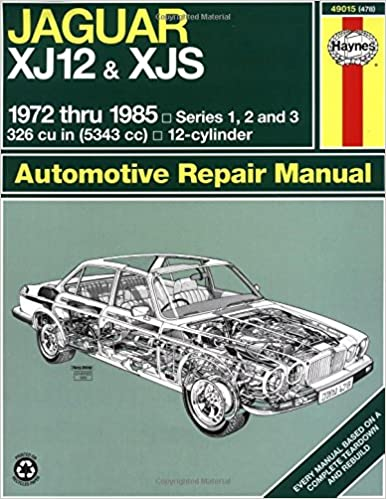 Jaguar xj12 xjs 7285 haynes repair manuals haynes jaguar xj12 xjs 7285 haynes repair manuals 1st edition sciox Gallery