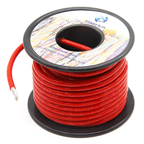 10 Gauge Electrical wire Marine Grade Primary wire Cable High Voltage 1000V Automotive high temperature wire battery cable 10 AWG Stranded of Tinned copper Hook up wire Hard wires 25FT - Power Wire Gauge 10