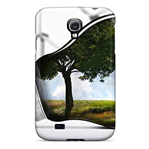 Shock-dirt Proof Abstract 3d Case Cover For Galaxy S4