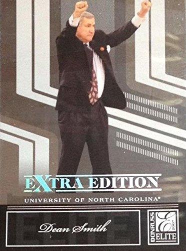 Dean Smith Basketball Card (North Carolina Tar Heels Coach) 2007 Donruss Elite #68