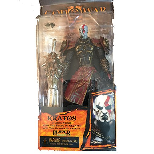 Kratos 3 God of war Ghost of Sparta PA PVC 20cm in Ares Armor W Blades Figures
