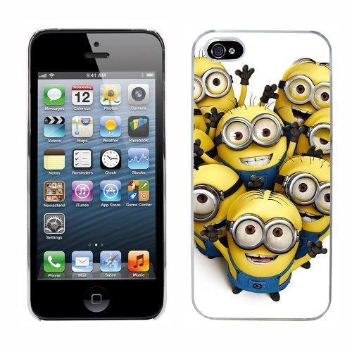 Moi moche et méchant Despicable Me Minions Film cas adapte iphone 5 couverture coque rigide de protection (9) case pour la apple i phone
