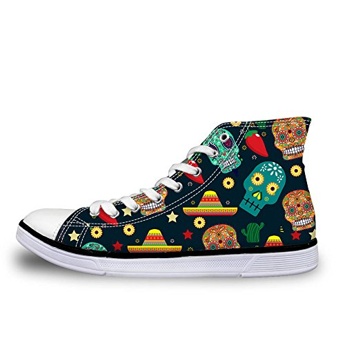 Stivaletto Skull a 4 Coloranimal Donna Pantofole Pattern ET8SqRa