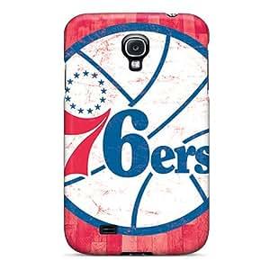 New CLC2698oCDe Philadelphia 76ers Skin Case Cover Shatterproof Case For Galaxy S4