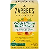 Zarbee's Daytime Cough Relief & Mucus - Natural Lemon with real Ivy Leaf Extract - 6 ct, Pack of 3