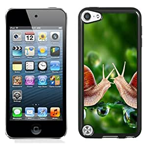Beautiful Designed Case For iPod 5 Phone Case With Snails Meeting Phone Case Cover