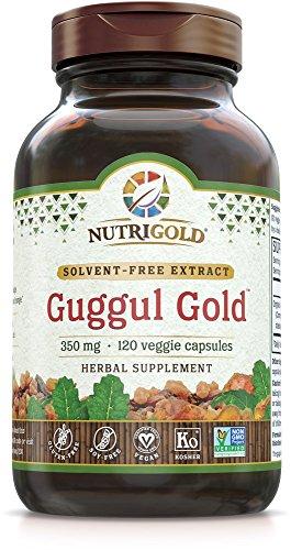 Nutrigold Guggul Gold, 350 mg, 120 veg. capsules