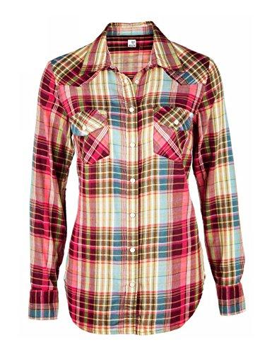 Brigitte von Boch - Camisas - Cuadrados - para mujer
