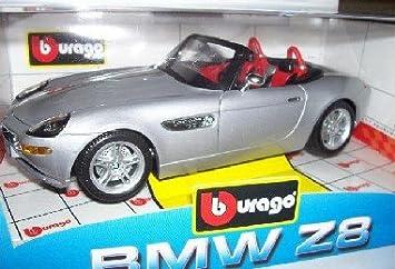 Bmw Z8 Z 8 Silber Cabrio Silver 118 Bburago Burago Modellauto
