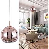 Mzithern Modern Mini Globe Pendant Lighting, Adjustable Mirror Ball Pendant  Lamp For Dinning Room Kitchen