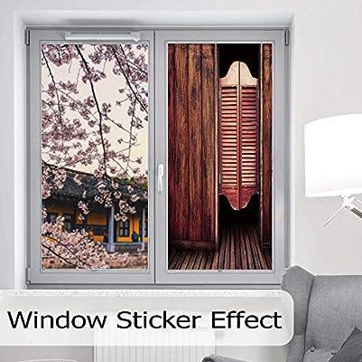 Awesome Amazon Com Static Cling Decorative Window Film Western Home Remodeling Inspirations Basidirectenergyitoicom