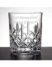 (Anpassad) Personlig graverad 325 ml whisky glas i kristall