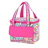Summer Sorbet High Fashion Print Collapsible Soft Cooler Bag Tote