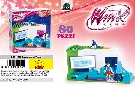 Winx Club - Buildings - Tecna\'s Room 80 Pcs: Amazon.de ...