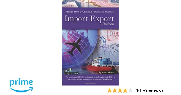 How to Open & Operate a Financially Successful Import Export