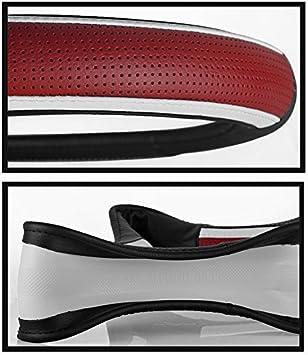 15 Echtleder HCMAX Pr/ämie Fahrzeug Lenkradabdeckung Auto Lenkradschutz Universal Durchmesser 38cm