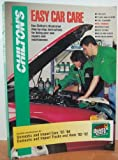 Easy Car Care/Quaker State, Chilton Automotive Editorial Staff, 0801986192