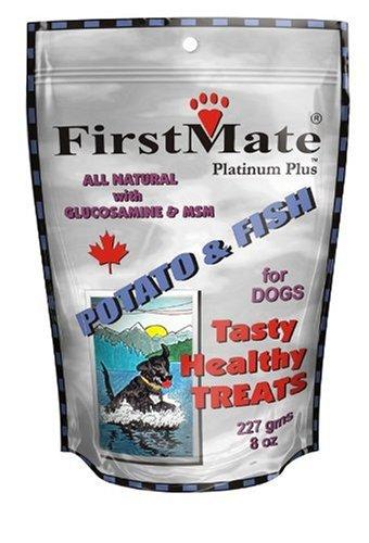 FirstMate Pet Foods Potato and Fish Treats, 8 Ounce, My Pet Supplies