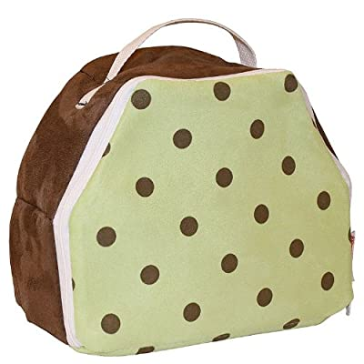 Hoohobbers Munchbox, Dots Green by Hoohobbers