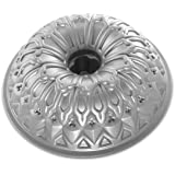Nordic Ware Stained Glass Bundt Pan, Metallic