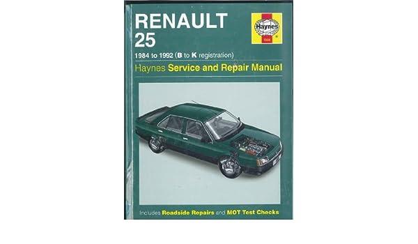 мануал renault 25 1984