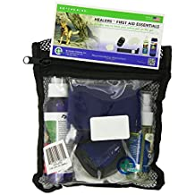 Healers Pet Pet First Aid Essentials Kit with VetEssentials Spray for Pets, Soft Case, Small