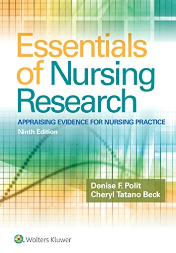 Top essentials of nursing research polit for 2019