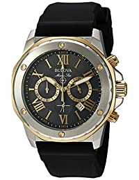 Bulova Mens 98B277 Sport Grey Dial Watch