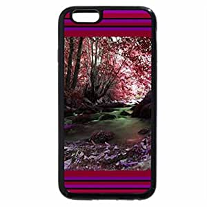 iPhone 6S / iPhone 6 Case (Black) Spring in the Woods