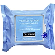 Neutrogena Make-Up Remover Cleansing Towelettes Refills 25 Each