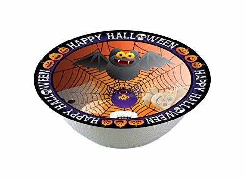 Forum Novelties 8 Count Happy Halloween Dessert Bowls, (Costume Made From Household Items)