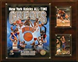 NBA New York Knicks All -Time Great Photo Plaque