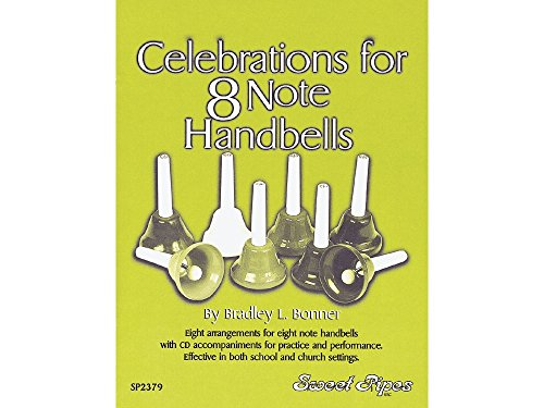 Sweet Pipes SP2379 Celebrations For 8 Note (8 Note Handbells Book)