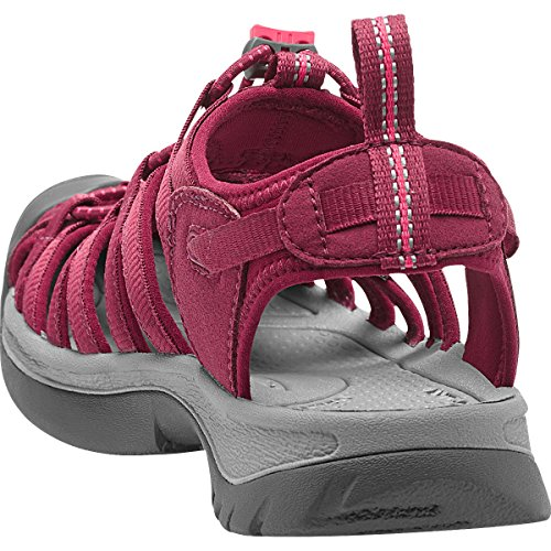 Red Honeysuckle Keen Donna Beet 5124 BKGA WHISPER Sandali Outdoor x88a6wPW1